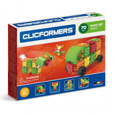 Конструктор CLICFORMERS 801002 Basic Set 70 деталей
