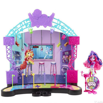 Набор игровой Hasbro MLPEG My Little Pony Рокконцерт