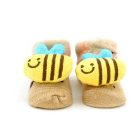 Носочки для малышей Baby Socks размер 7-9см с игрушкой