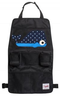 Органайзер 3 Sprouts на спинку сидения автомобиля Синий кит 00027