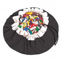 Мешок для хранения игрушек и игровой коврик Play&Go Classic Черный 40006