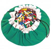 Мешок для хранения игрушек и игровой коврик Play&Go Classic Зеленый 40003