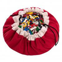 Мешок для хранения игрушек и игровой коврик Play&Go Classic Красный 79950