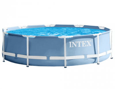 Бассейн каркасный Intex Prism Frame Pool с насосом 28702