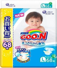 Подгузники GooN (Гун) Ultra Jumbo Pack 9-14 кг 68 шт L New