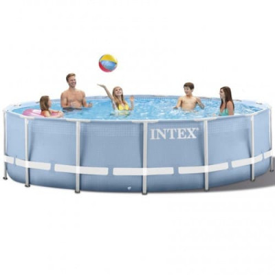 Бассейн каркасный Intex Prism Frame Pool 28710