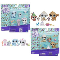 Игровой набор Hasbro Littlest Pets Shop Семья B9346