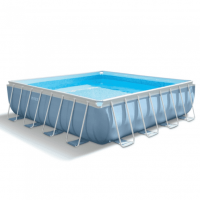 Каркасный бассейн Intex Prism Square Frame Pools с аксессуарами 28764
