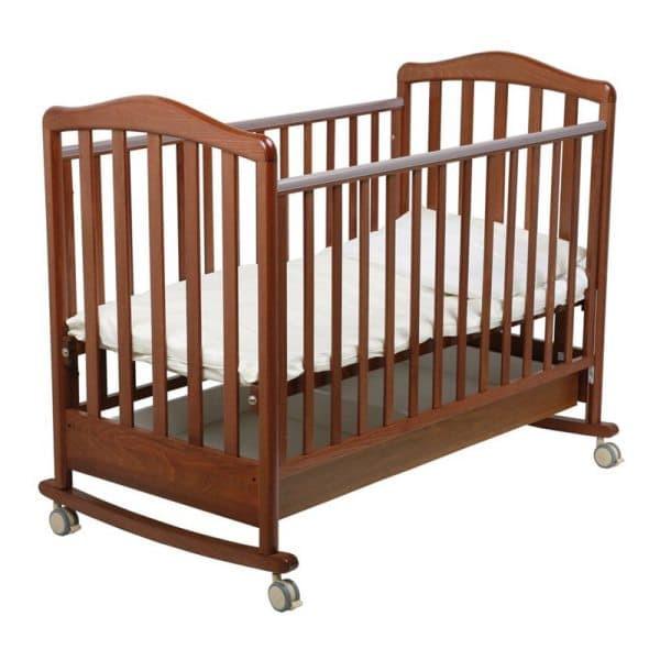 Кроватка Papaloni Винни (колесо качалка)
