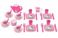 Набор детской игрушечной посуды Ecoiffier серия Hello Kitty 2609
