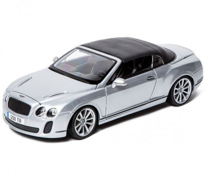 Машина Bburago СБОРКА BENTLEY Continental Supersports Convrtible ISR 1 к 18 BB
