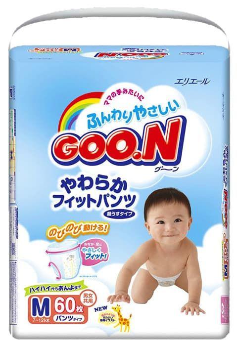 82e9dd11ade9 Подгузники-трусики GooN M 7-12 кг 58 шт   Купить недорого товары для детей  в интернет-магазине DeNMa77