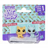 Набор Hasbro Littlest Pet Shop 2 питомца B9389