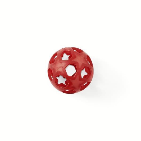 137993160b31 Прорезыватель HEVEA из натурального каучука Star ball Красный 121402 ...