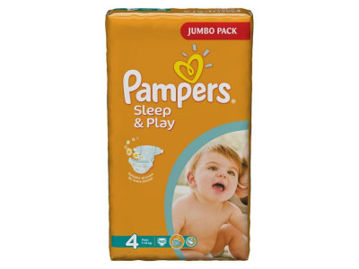 Подгузники Pampers Sleep & Play Maxi 7-14 кг 68 шт (4)