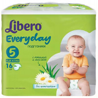 Подгузники Libero Every Day 11-25 кг 16 шт