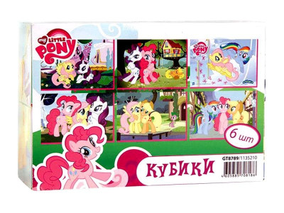 Кубики HASBRO MY LITTLE PONY GT8789