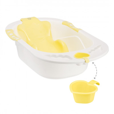 Детская ванна Happy Baby Comfort YELLOW 34005