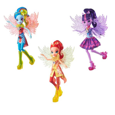 Кукла HASBRO MY LITTLE PONY Equestria Girls Легенда Вечнозеленого леса Делюкс B6479