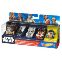 Набор машинок Mattel Star Wars Hot Wheels DJP17