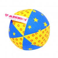 Игрушка Мякиши Мяч с погремушкой Малыш 369