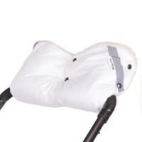 Муфта Baby Care Classic с карманом шерстяной мех плащевка светоотражатели утеплитель на ручку белый